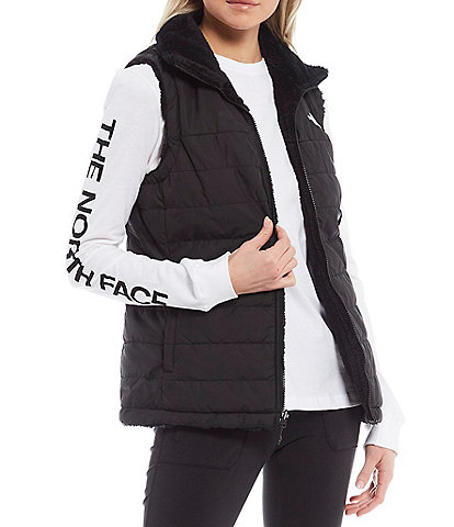 The North Face Mossbud Insulated Reversible Zip Front Vest
