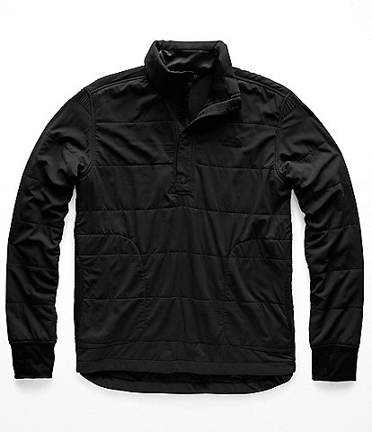The North Face Mountain 1/4 Snap Neck Long-Sleeve Sweatshirt