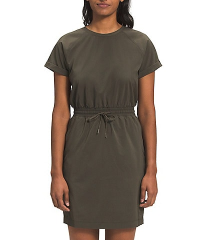 The North Face Never Stop Wearing Jewel Neck Short Sleeve Dress