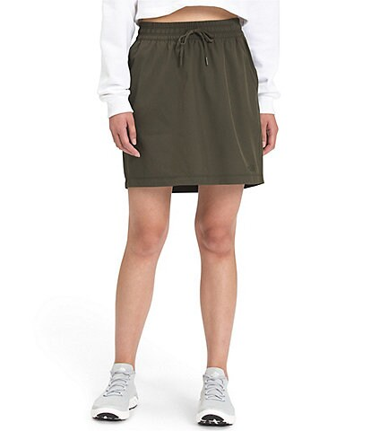 The North Face Never Stop Wearing Woven Drawstring Pocketed Skirt