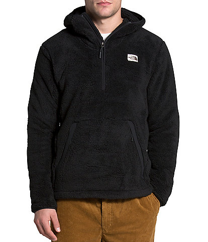 The North Face Out Campshire Sherpa-Fleece Pullover Hoodie