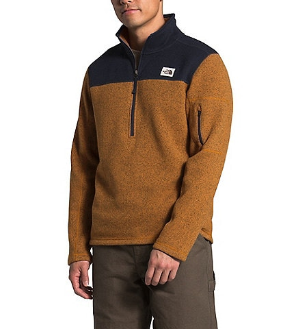 The North Face Out Gordon Lyons Quarter-Zip Color-Block Pullover