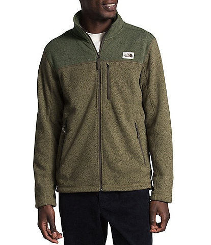 The North Face Gordon Lyons Sweater Knit Fleece Full-Zip Jacket