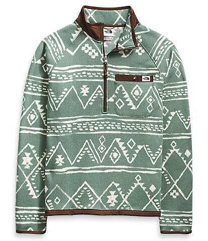 The North Face Out Long-Sleeve Printed Gordon Lyons Quarter-Zip Pullover
