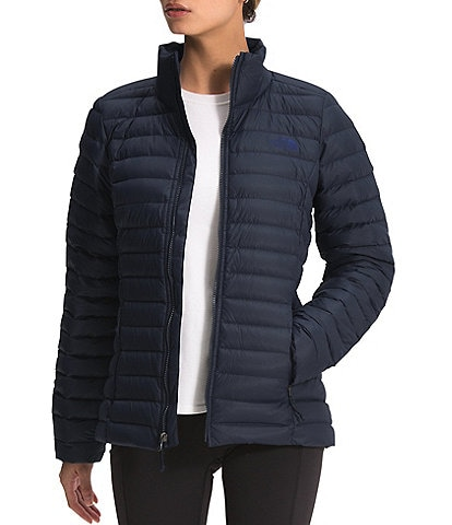 The North Face Packable Long Sleeve Stand Collar Stretch Down Puffer Jacket