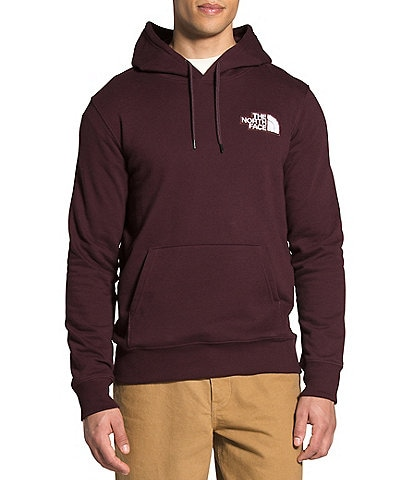 The North Face Patch Logo Fleece Pullover Hoodie