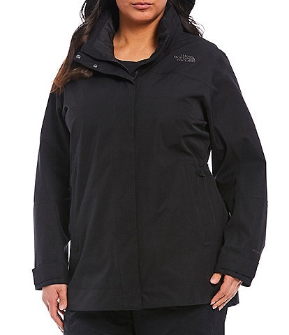 The North Face Plus Size Long Sleeve Westoak City Trench Coat