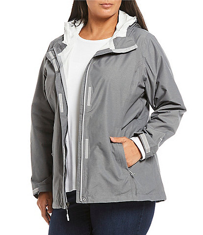 The North Face Plus Size Venture Hooded Jacket