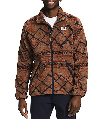 The North Face Printed Campshire Long-Sleeve Full-Zip Jacket