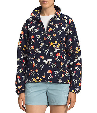 The North Face Printed Class V Packable Long Sleeve Windbreaker