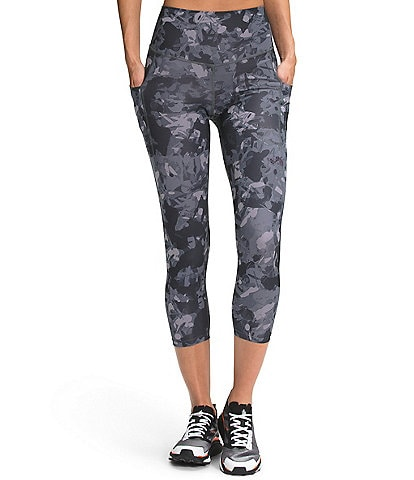 The North Face Printed Motivation High-Rise Pocket Cropped Tights