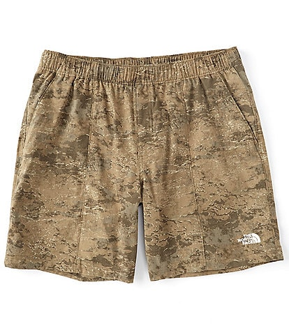 The North Face Relaxed Class V Pull-On 9#double; Inseam Camo FlashDry Shorts
