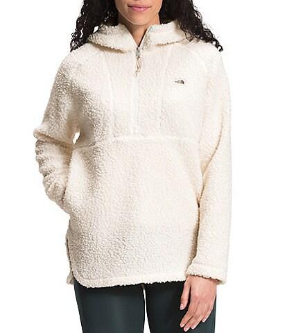 The North Face Ridge Fleece Long Sleeve Sherpa Fleece Hooded Pullover