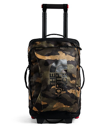 The North Face Rolling Thunder 22#double; Camo Upright Carry-On