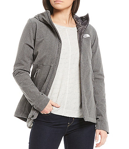The North Face Shelbe Long Sleeve Standard Fit Water Repellent Raschel Jacket