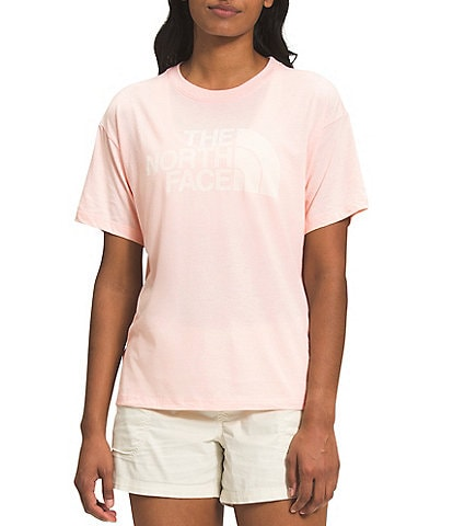 The North Face Short Sleeve Crew Neck Half Dome Tri-Blend Tee