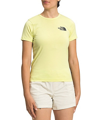 The North Face Short Sleeve Crew Neck Himalayan Bottle Source Tee