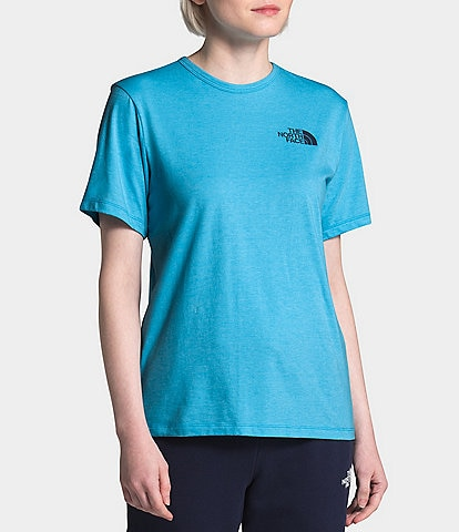 The North Face Short Sleeve Peaceful Never Stop Exploring Cotton Jersey Tee