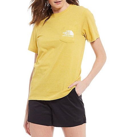 The North Face Short Sleeve Tri Blend Pocket Tee