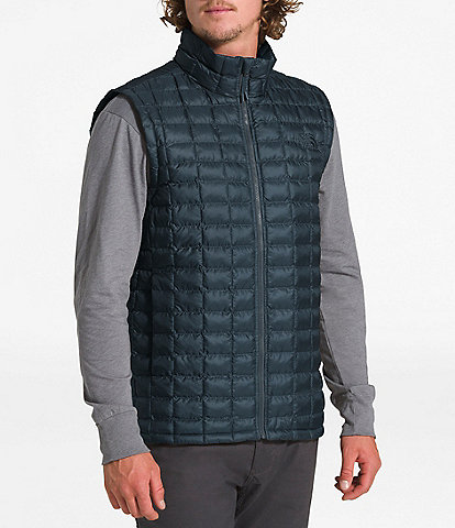 The North Face Slim Fit Matte Finish Packable ThermoBall™ Insulated Eco Vest