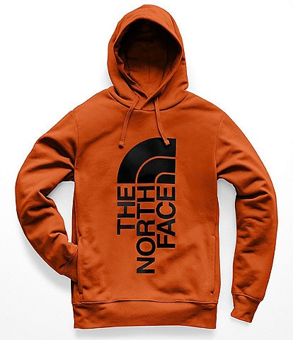 The North Face Standard Fit Long-Sleeve Fleece Trivert Logo Pullover Hoodie
