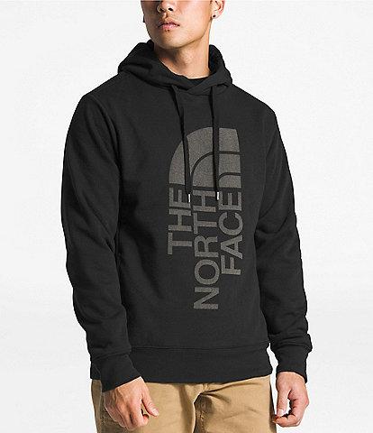 The North Face Standard Fit Long-Sleeve Fleece Trivert Logo Pullover Hoodie cc7996e27