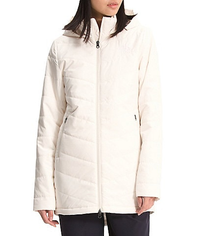 The North Face Tamburello Long Sleeve Stand Collar Quilted Hooded Parka