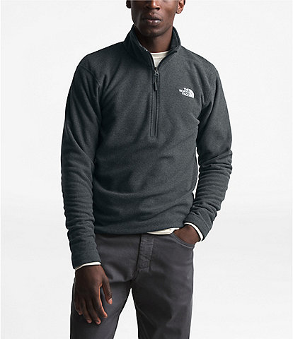 The North Face Textured Cap Rock Zip Pullover