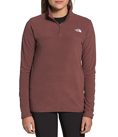 The North Face TKA Glacier Recycled Fleece Quarter Zip Pullover