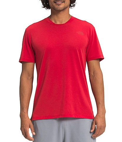 The North Face Wander Short-Sleeve Solid Lightweight Jersey-Knit Tee