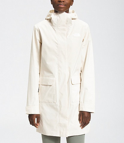 The North Face Windproof Long Sleeve City Breeze Rain Parka II