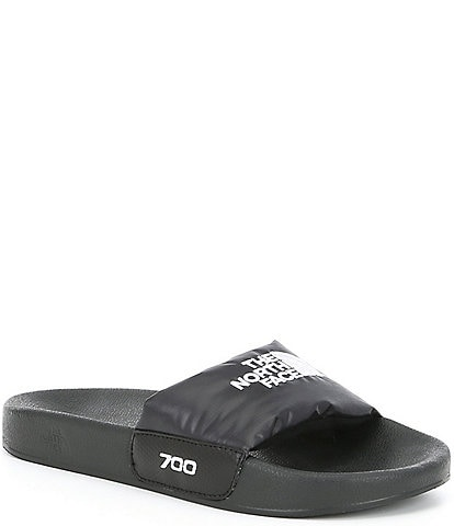 The North Face Women's Nuptse Logo Water-Resistant Slides