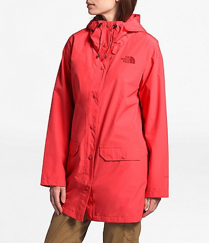 The North Face Woodmont Water Repellent Raincoat