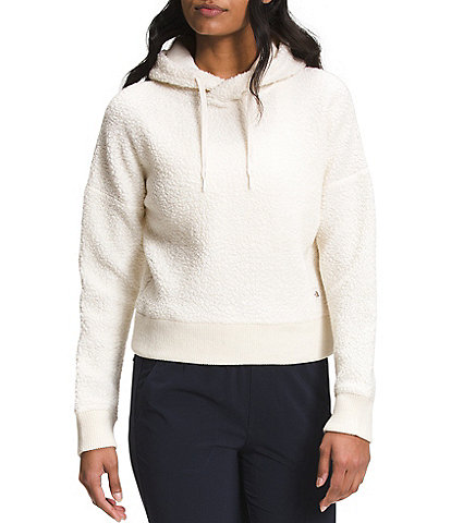 The North Face Wool Long Sleeve Straight Hem Harrison Pullover Hoodie