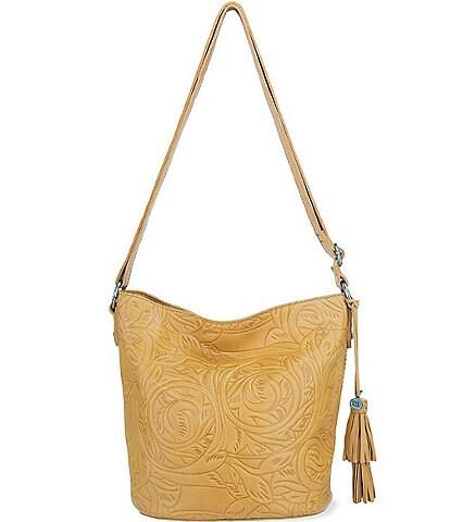 The Sak Alta Leather Bucket Bag