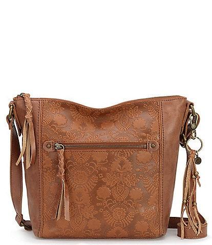 The Sak Collective Ashland Zip Top Crossbody Bag