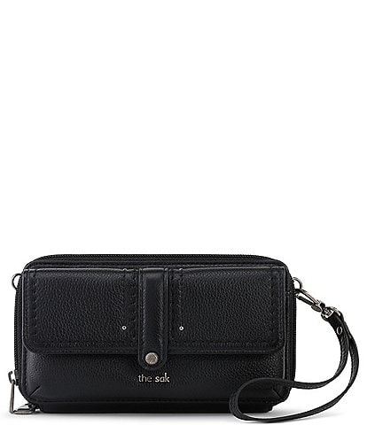 The Sak Collective Sequoia Leather Convertible Wristlet Crossbody Bag