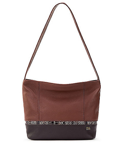 The Sak De Young Snake Multi Leather Hobo Bag