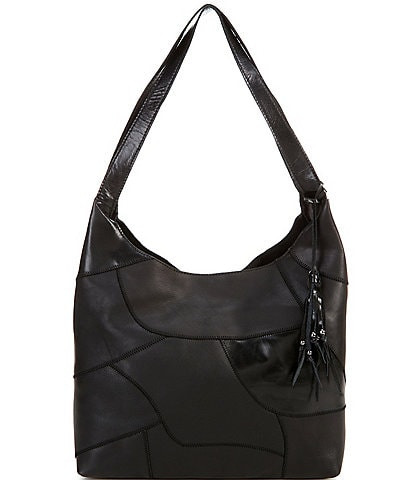 The Sak Huntley Upcycle Patchwork Hobo Bag