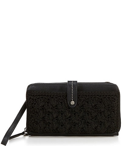 The Sak Iris Crochet Large Smartphone Crossbody Bag