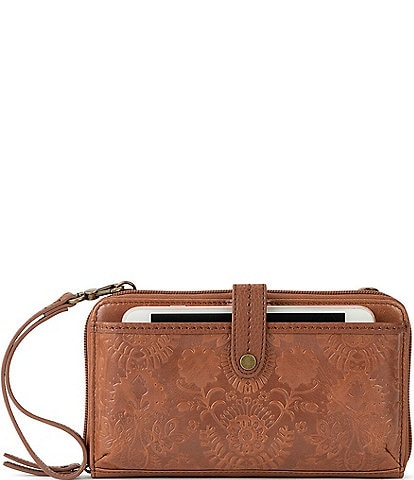The Sak Iris Large Smartphone Convertible Crossbody Wristlet