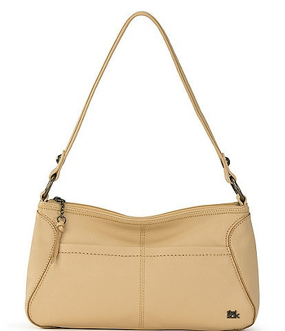 The Sak Iris Small Leather Hobo Bag
