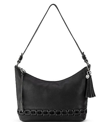 The Sak Keira Leather Zip Hobo Bag