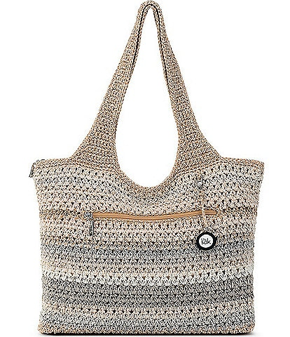 The Sak Large Hand-Crochet Tote Bag