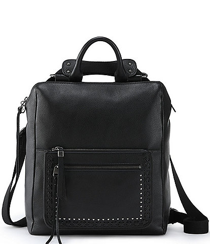 The Sak Loyola Convertible Leather Studded Backpack