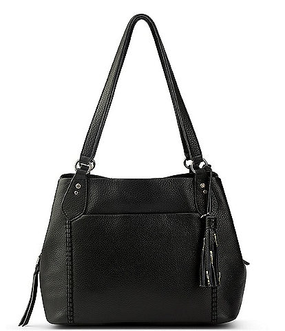 The Sak Melrose Leather Shoulder Satchel Bag