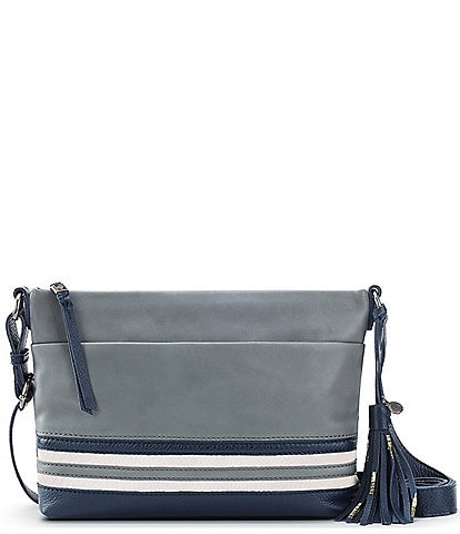 The Sak Melrose Top Zip Leather Crossbody Bag