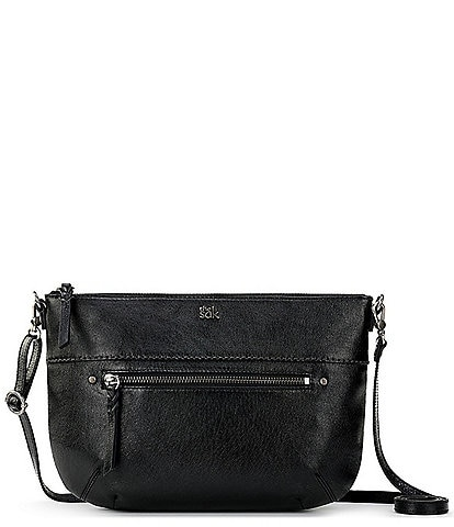 The Sak Oleta Leather Crossbody Clutch