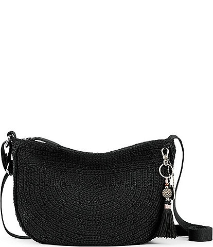The Sak Ryder Crocheted Crescent Crossbody Bag