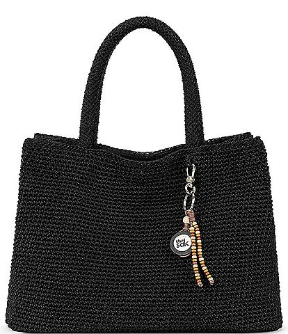 The Sak Santa Barbara Crochet Satchel Bag